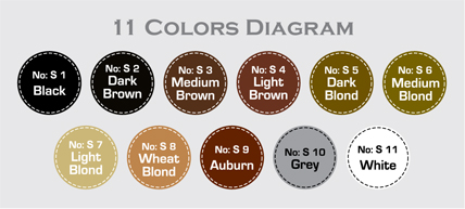11 color diagram
